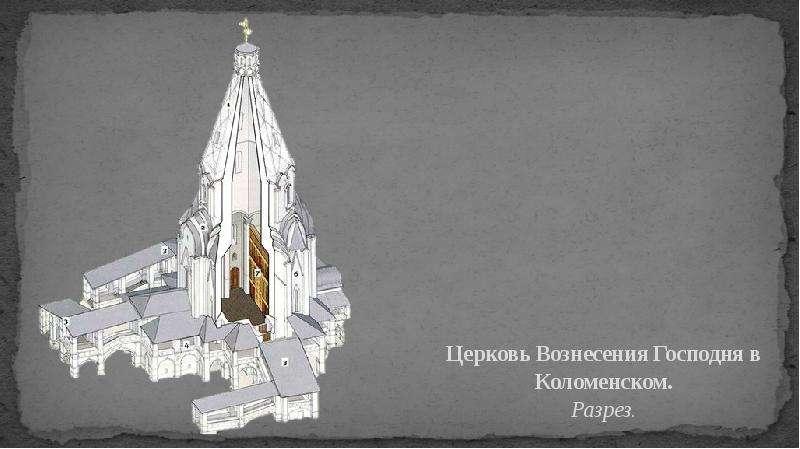 Своеобразие русской архитектуры. Храмовое многоглавие, слайд 14