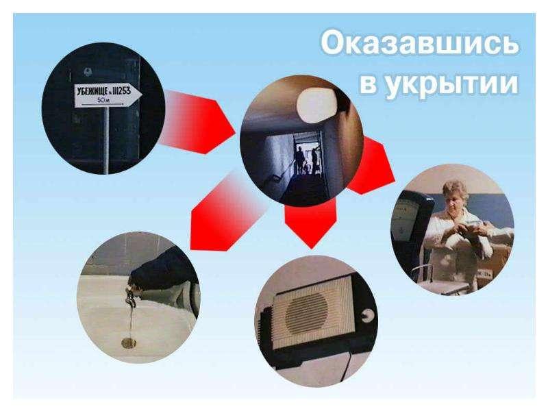 Правила поведения во время радиационной аварии, слайд 13