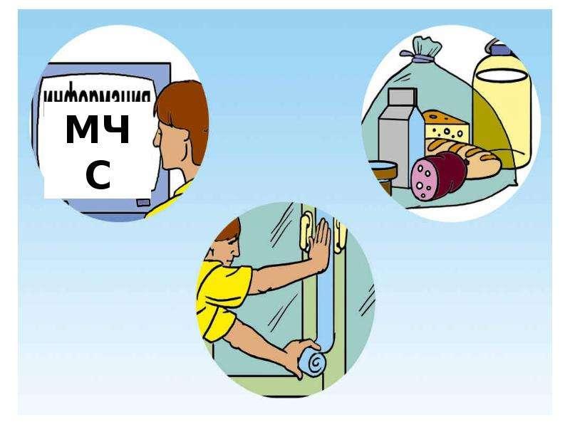 Правила поведения во время радиационной аварии, слайд 7