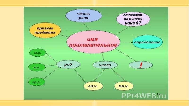 Методика изучения морфологии в курсе русского языка в начальной школе, слайд 50
