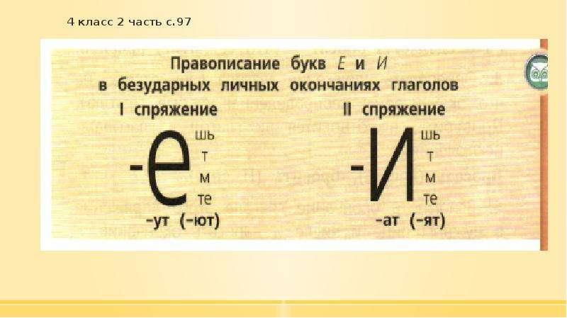 4 класс 2 часть с. 97