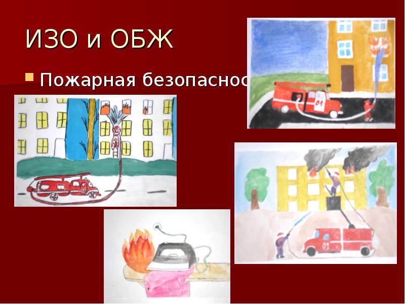 ИЗО и ОБЖ Пожарная безопасность